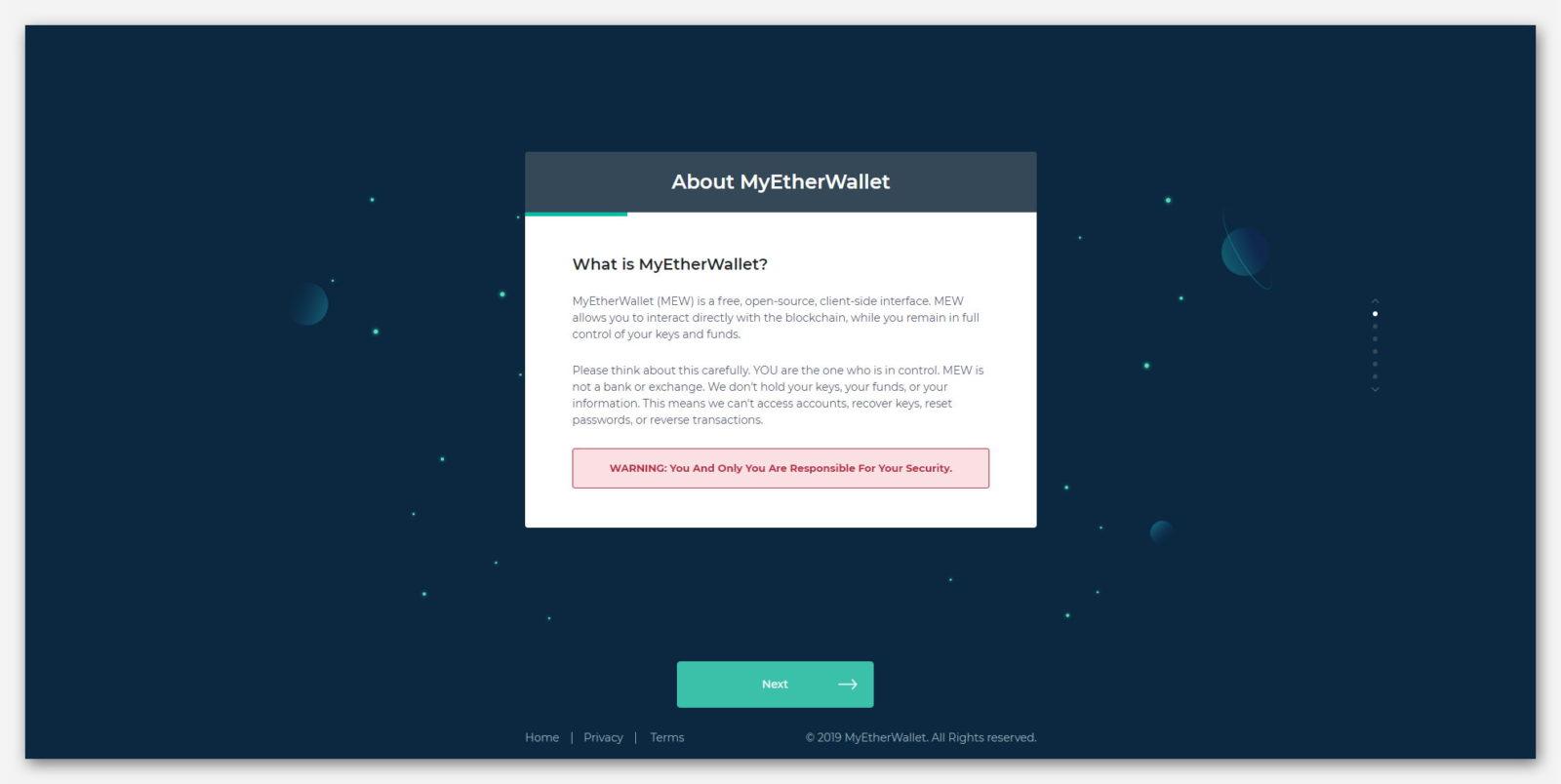 Руководство по безопасности Ethereum кошелька MyEtherWallet