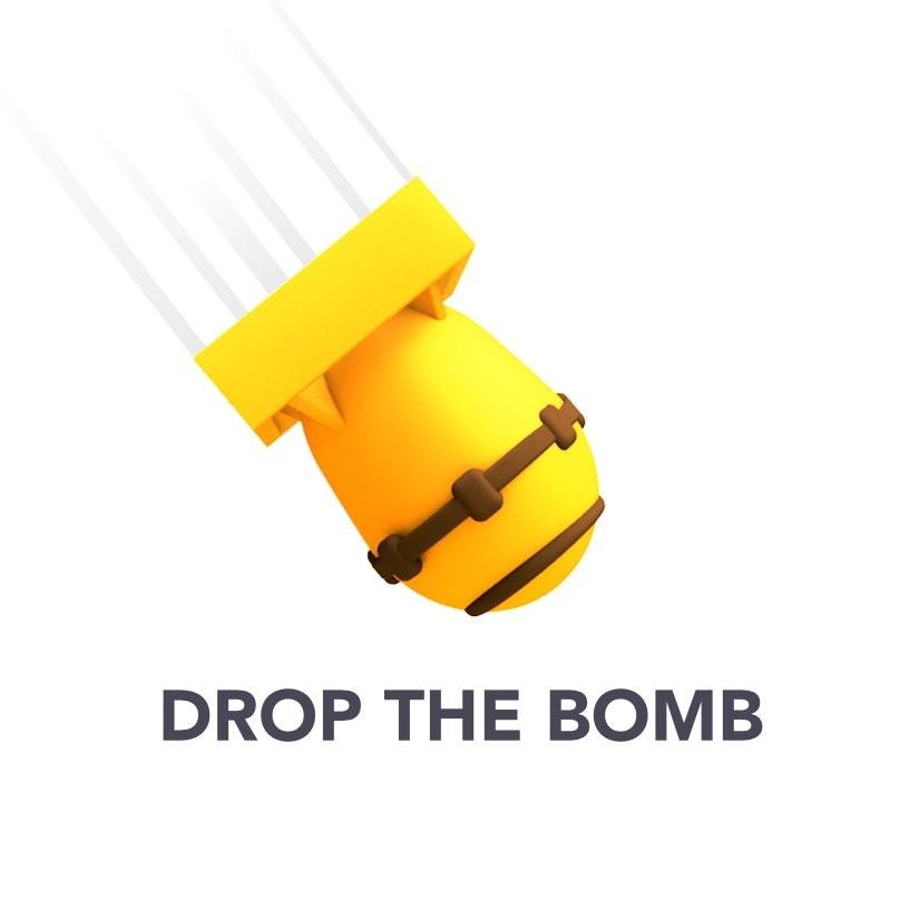 DropTheBomb - tjäna kryptovaluta på bounty-plattformen