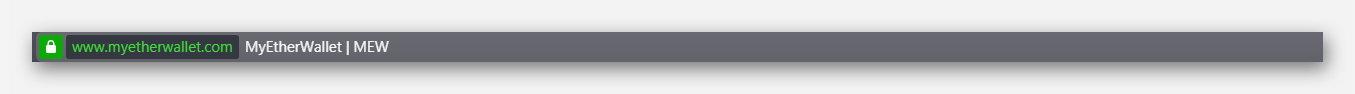 Адрес сайта, надёжного Ethereum кошелька MyEtherWallet