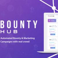 BountyHub — заработок криптовалют без вложений