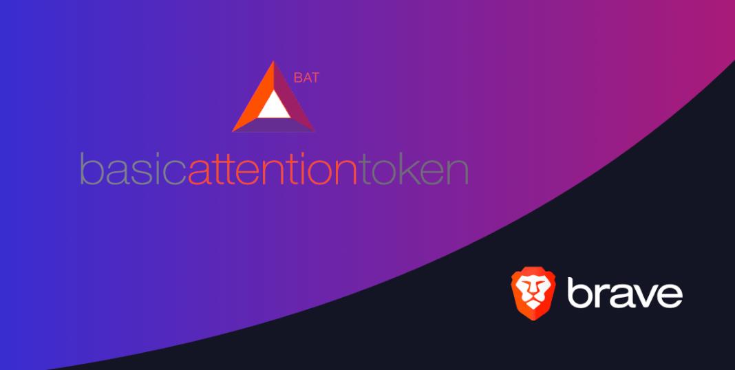 Логотип браузера Brave и логотип токена BAT