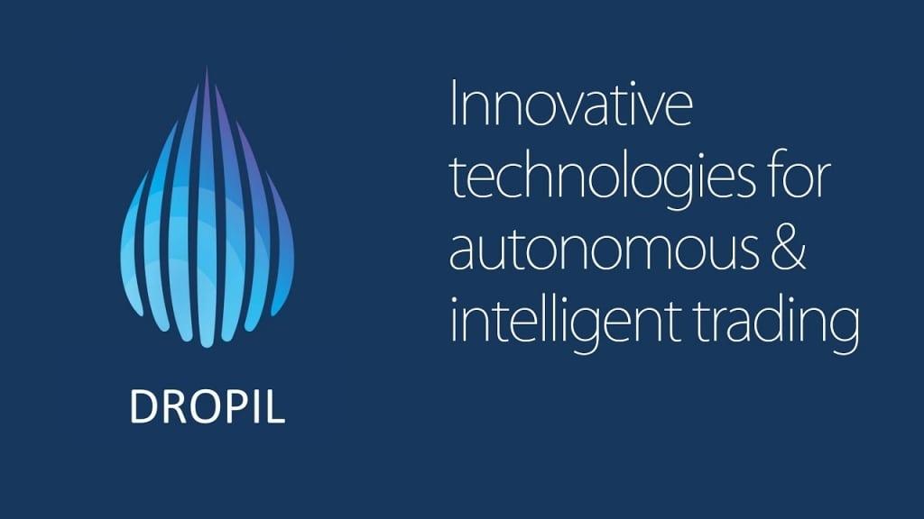 Логотип компании Dropil, с подробным описанием
