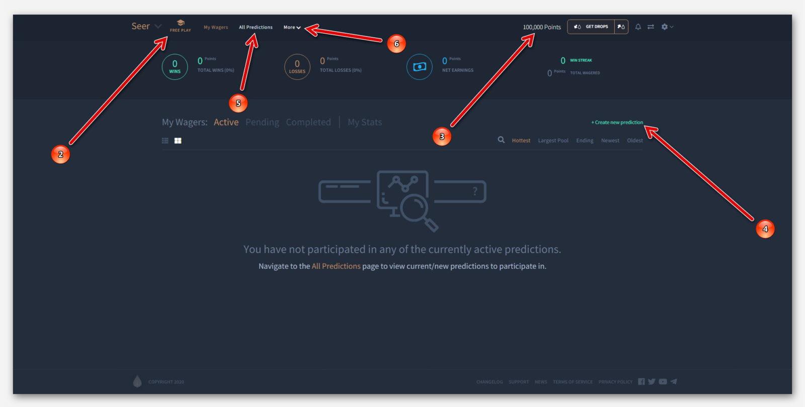 Обзор Free Play, в Роботе Seer, на платформе Dropil