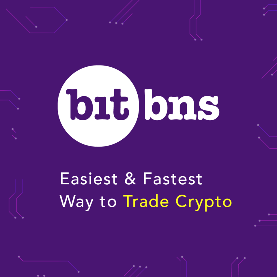 Airdrop ➔ Bitbns (50 BNS символи)