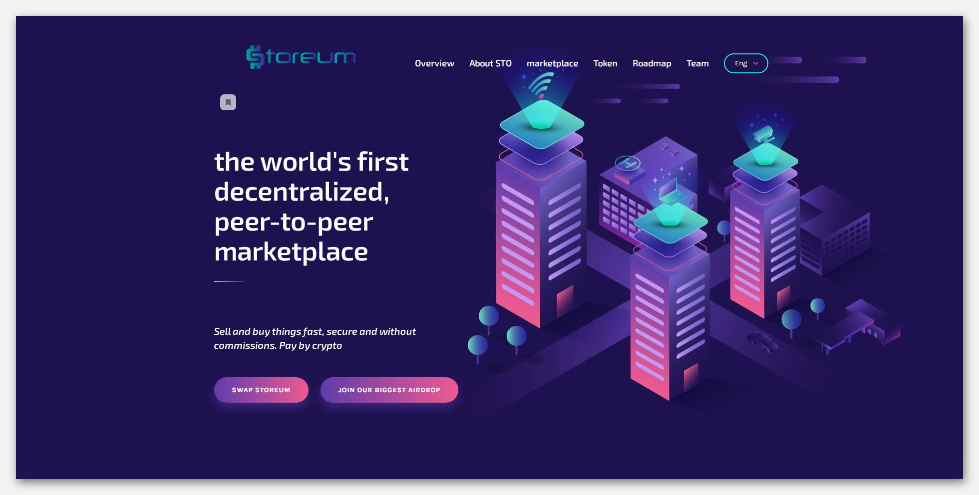 Airdrop: Storeum ($50 дар нишонаҳои STO)